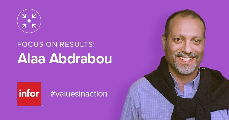 Every Quarter Infor Celebrates Employees Chosen By Their Colleagues For Exemplary Performance And Embodiment Of Our Core Values Alaa Abdrabou