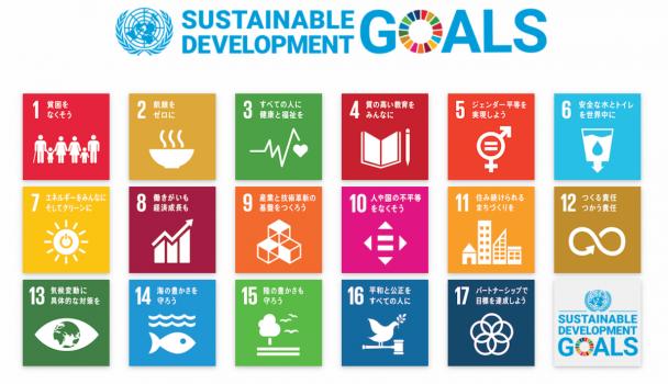 17のSDGs「持続可能な開発目標」