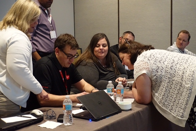 Collaborating at Infor TechEd