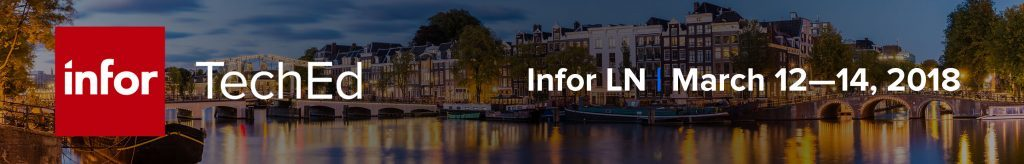 Register now for Infor TechEd for Infor LN