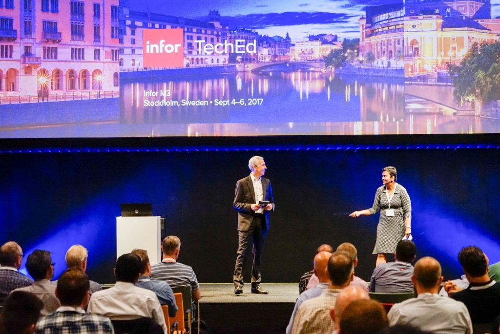 Infor TechEd for Infor M3 2017 kicks offs