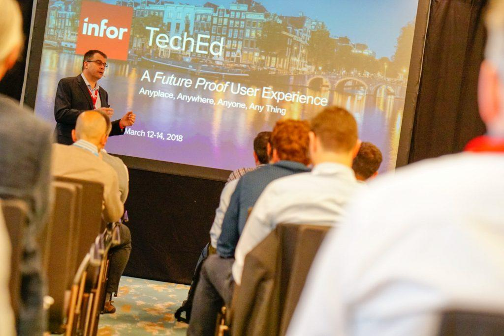 Technology update at Infor TechEd