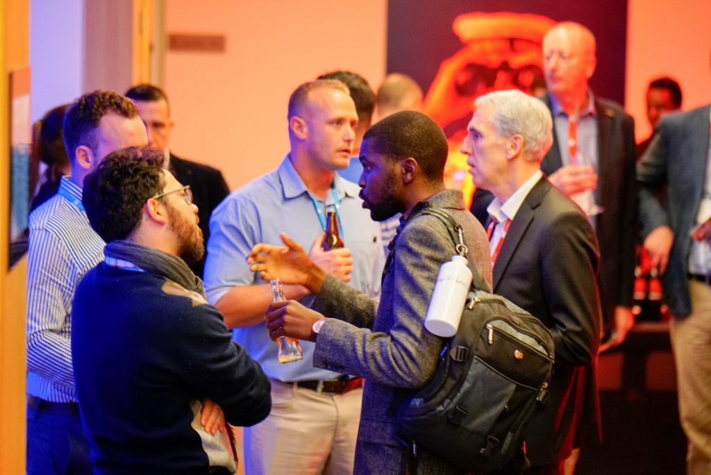 Networking at Infor TechEd