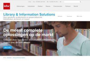 Nieuwe website Infor Bibliotheken