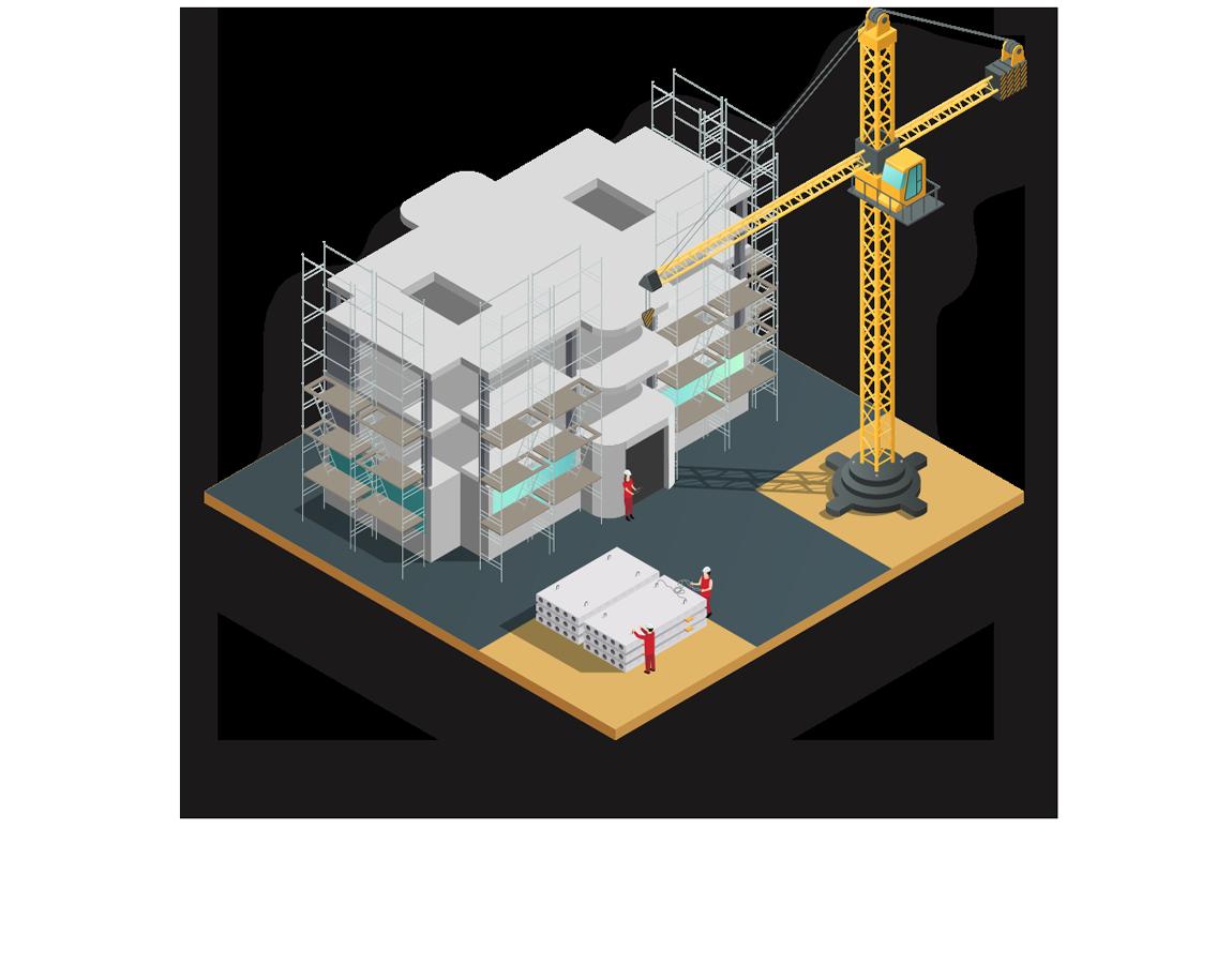 インフォアの建設業界向けクラウドERP