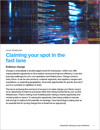 Th Claiming your spot in the fast lane The top 5 ways Perspectives English 457px