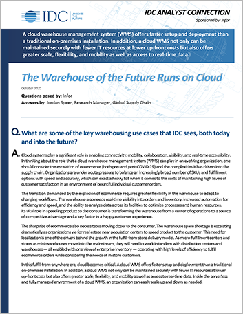 Th IDC Analyst Connection The Warehouse of the Future Runs on Cloud Analyst Report English 457px