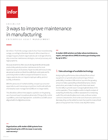 Th 3 ways to improve maintenance in manufacturing Checklist English 457px