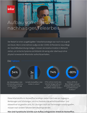 Th 4 steps to create a successful remote workforce Infographic German 457px