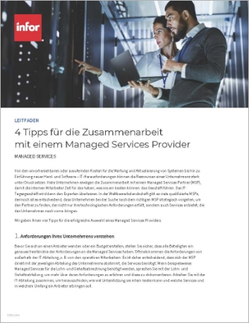 Th 4 tips for working with managed services How to Guide German 457px