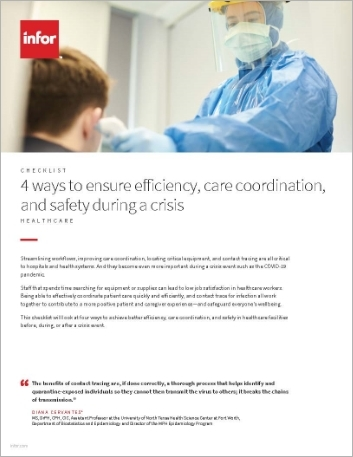 Th 4 ways to ensure efficiency care coordination and safety during a crisis Checklist English 457px