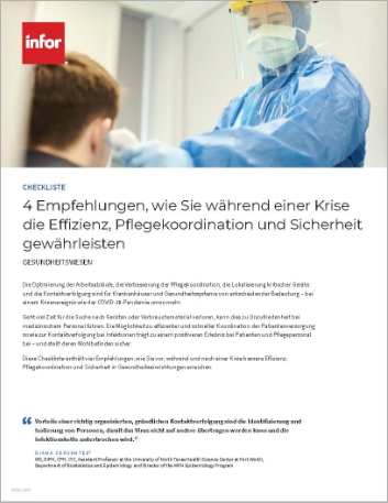 Th 4 ways to ensure efficiency care coordination and safety during a crisis Checklist German 457px