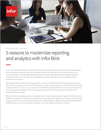 Th 5 reasons to modernize reporting and analytics with Infor Birst Executive Brief English 457px