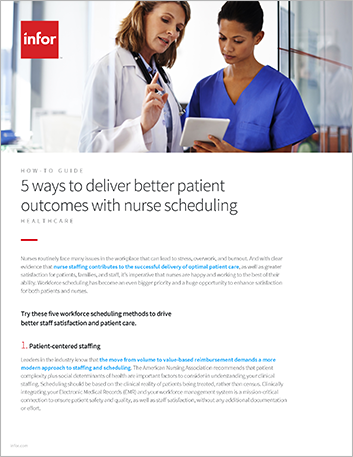 Th 5 ways to deliver better patient outcomes with nurse scheduling How to Guide English 457px 1
