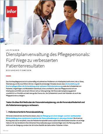 Th 5 ways to deliver better patient outcomes with nurse scheduling How to Guide German 457px