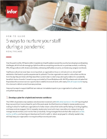 Th 5 ways to nurture your staff during a pandemic How to Guide German 457px
