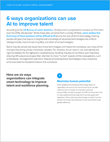 Th 6 ways organizations can use AI to improve talent How to Guide English 457px