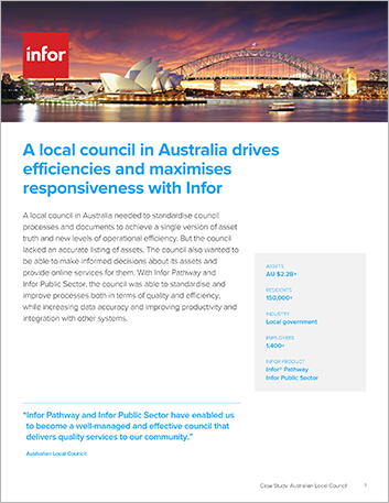 Th A local council in Australia drives efficiencies and maximises responsiveness with Infor Case Study Infor Pathway Public Sector APAC English 457px