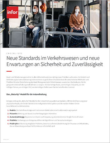 Th A new level of transit standards and expectations for safety and reliability Checklist German 457px