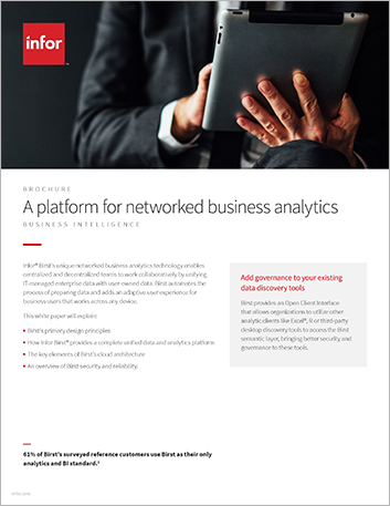 Th A platform for networked business analytics Brochure English 457px
