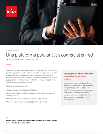 Th A platform for networked business analytics Brochure Spanish LA 457px