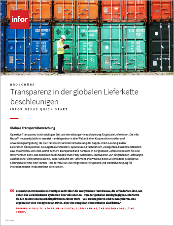 Th Accelerate improved supply chain visibility Brochure German 457px