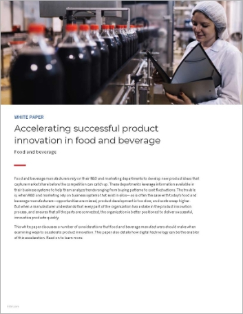 Th Accelerating successful product innovation in food and beverage White Paper English 457px