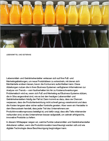 Th Accelerating successful product innovation in food and beverage White Paper German 457px