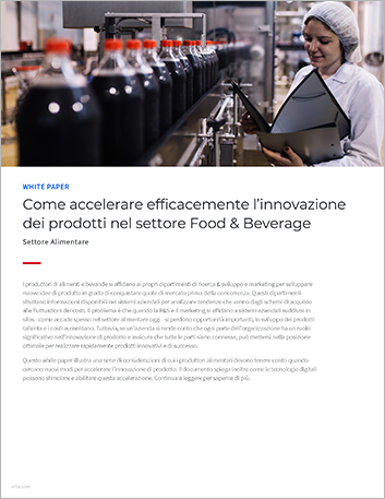 Th Accelerating successful product innovation in food and beverage White Paper Italian 457px