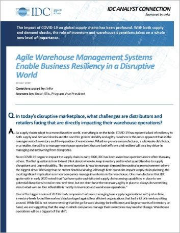 Th Agile Warehouse Management Systems Enable Business Resiliency in a Disruptive World Analyst Report English English 457px