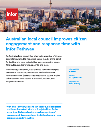 Th Australian local council improves citizen engagement Case Study Infor Pathway Public Sector APAC English 457px