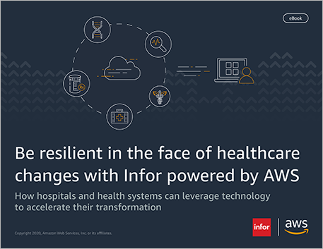 Th Be resilient in the face of healthcare changes with Infor powered by AWS ebook English 457px