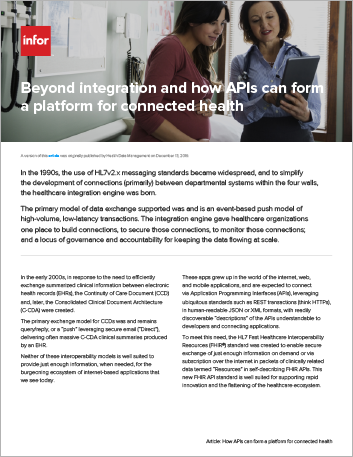 Th Beyond integration and how AP Is can form a platform for connected health Article English 457px