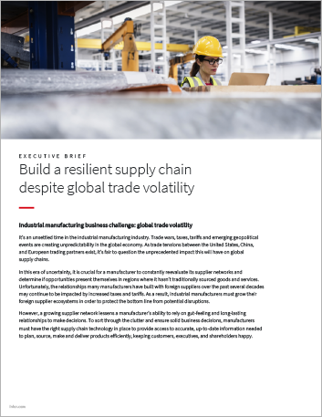 Th Build a resilient supply chain despite global trade volatility Executive Brief English 457px