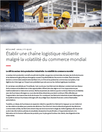 Th Build a resilient supply chain despite global trade volatility Executive Brief French 457px 1