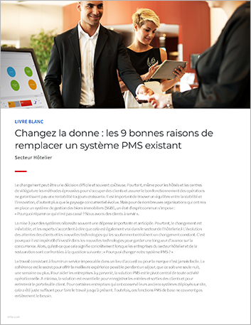 Th Change it up the nine best reasons to replace a legacy PMS White Paper French France 457px