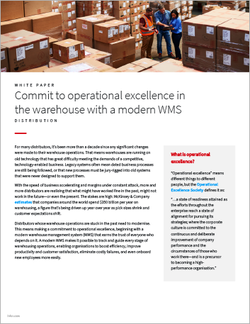 Th Commit to operational excellence in the warehouse with a modern WMS White Paper English Aus 457px