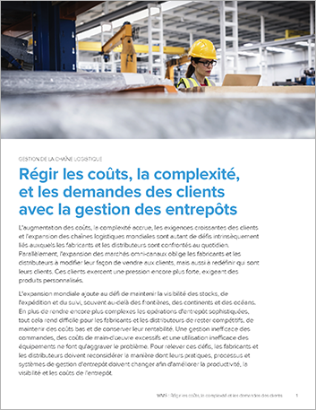 Th Conquering costs complexity and customer demands with warehouse management Executive Brief French France 457px