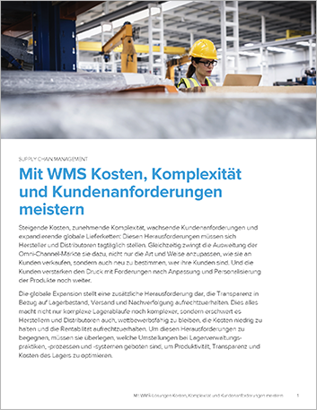 Th Conquering costs complexity and customer demands with warehouse management Executive Brief German 457px