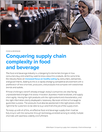 Th Conquering supply chain complexity in food and beverage White Paper English 457px