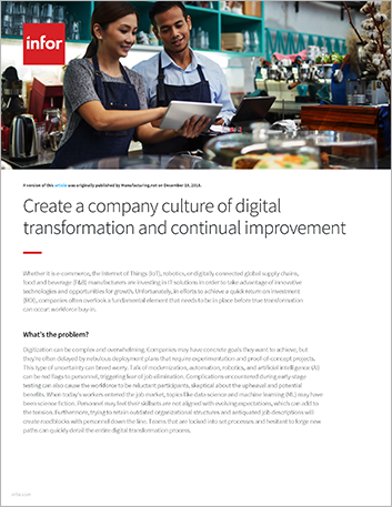 Th Create a company culture of digital transformation and continual improvement Article English 457px