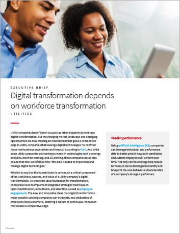 Th Digital transformation depends on workforce transformation Utilities Executive Brief English 457px