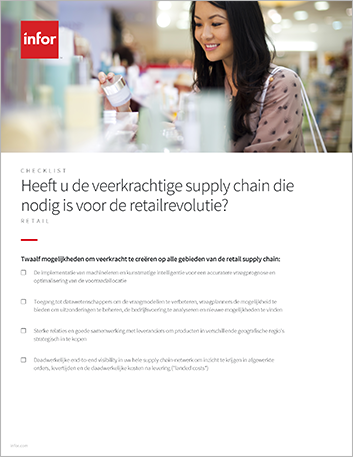 Th Do you have the resilient supply chain needed for the retail revolution Checklist Dutch 457px