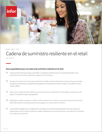 Th Do you have the resilient supply chain needed for the retail revolution Checklist Spanish Spain 457px
