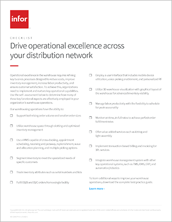 Th Drive operational excellence across your distribution network Checklist English 457px
