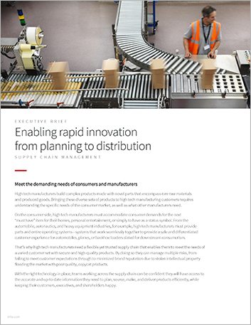 Th Enabling rapid innovation from planning to distribution Executive Brief English 457px