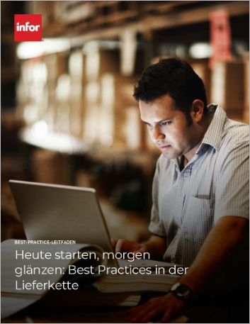 Th Enabling today and differentiating tomorrow Supply chain best practices Best Practice Guide German 457px