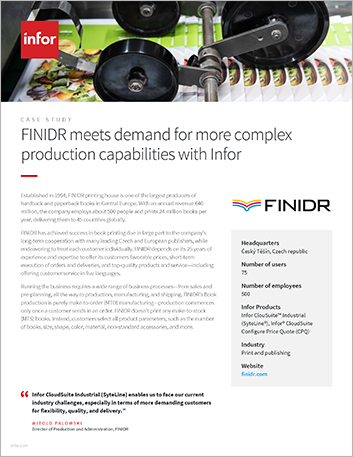 Th FINIDR Case Study Cloud Suite Industrial Syte Line Print and publishing EMEA English 457px