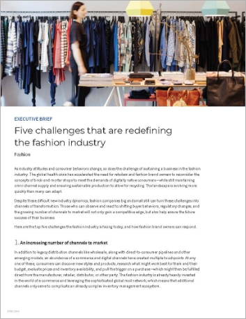 Th Five challenges that are redefining the fashion industry Executive Brief English 457px