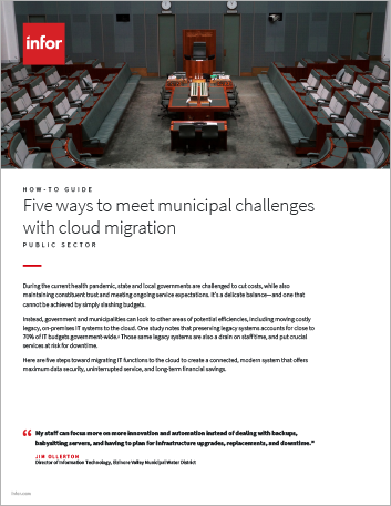 Th Five ways to meet municipal challenges with cloud migration How to Guide English 457